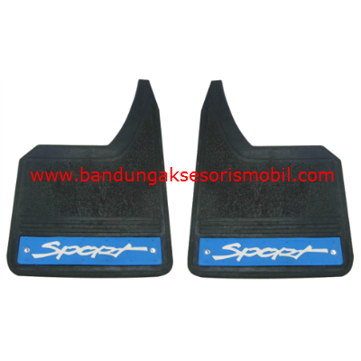 Mudguard Exclusive Sedan Sport Biru