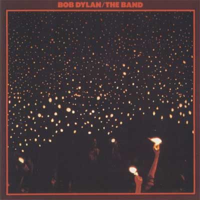Bob Dylan & the Band - Before the Flood album cover