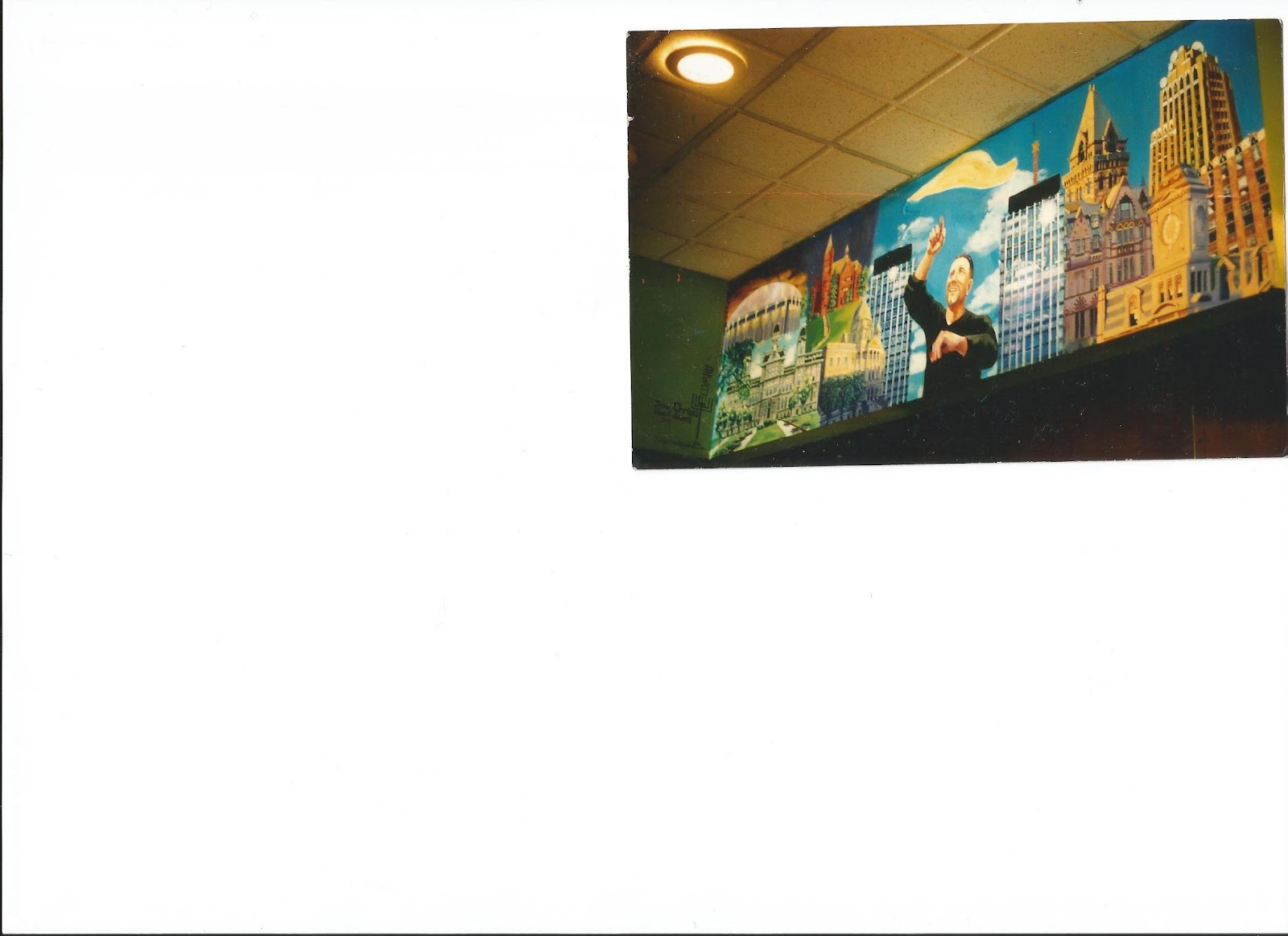 Eliyahu benysrael murals syracuse cityscape mural at for City scape mural