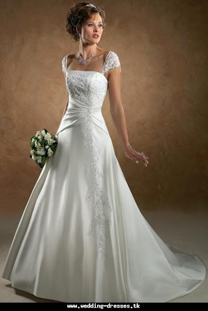 Wedding clothes collection most beautiful wedding dress for The most gorgeous wedding dress