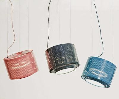 Upcycling em luminária de designer holandes