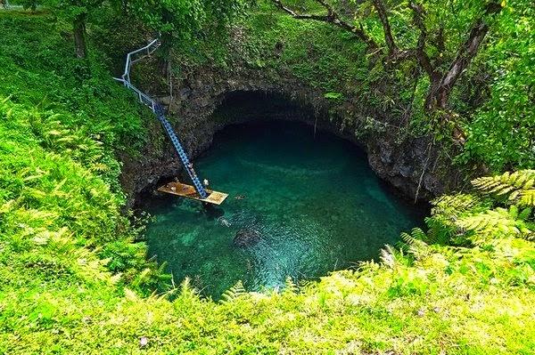 To Sua Ocean Trench - Wyspy samoa