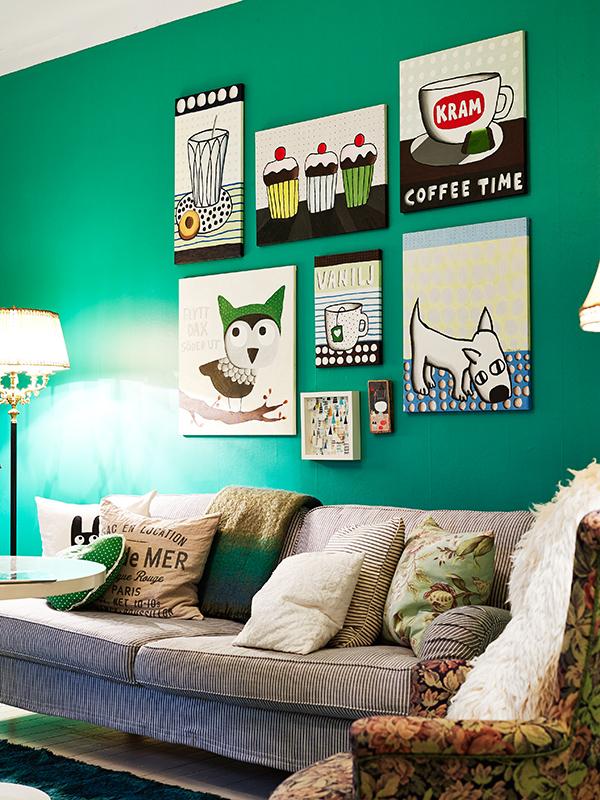 Arquitetura feminina verde esmeralda cor de 2013 - Paredes en verde ...