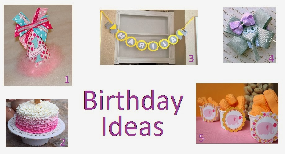 Elephant Birthday Ideas