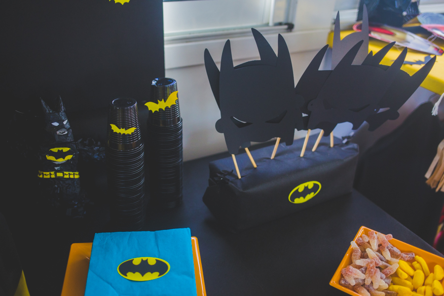deco de table  batman