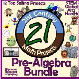https://www.teacherspayteachers.com/Product/21st-Century-Pre-Algebra-Project-Starter-Bundle-Common-Core-Aligned-746459