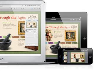Aplikasi Presentasi Apple Keynote dengan fitur iCloud
