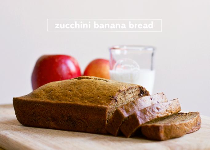 Zucchini banana bread | Thisfruitblogs.com