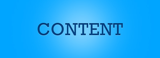Content is All That Matters on the Web