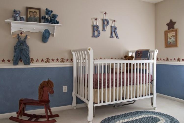 Cuartos de beb s en celeste y gris dormitorios colores y - Fotos habitaciones bebes ...