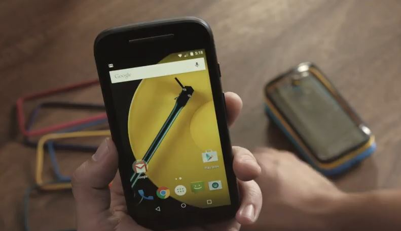 Hands on with the new Moto E