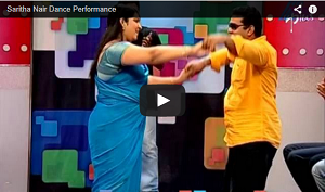 Solar Case Saritha S Nair Dance Performance