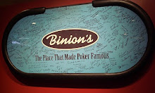 Binions Last WSOP Table