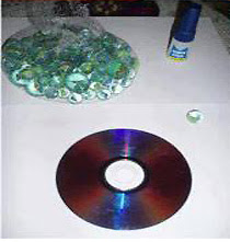 DIY งานประดิษฐ์โคมไฟลูกแก้ว