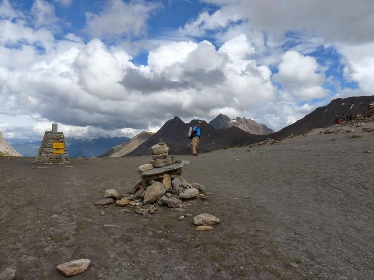 ツール・ド・モンブラン セーニュ峠 Col de la Seigne (2516m)