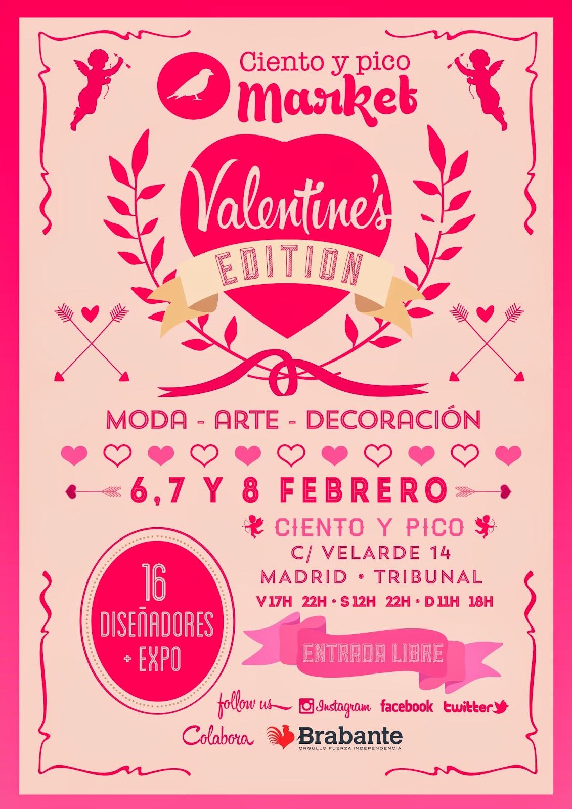 feb ciento y pico market mercadillo pop up de moda arte y decoracin