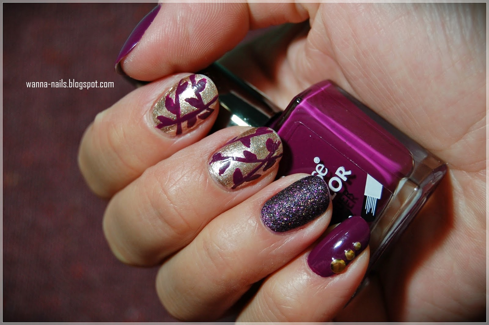 Autumn manicure: what is it
