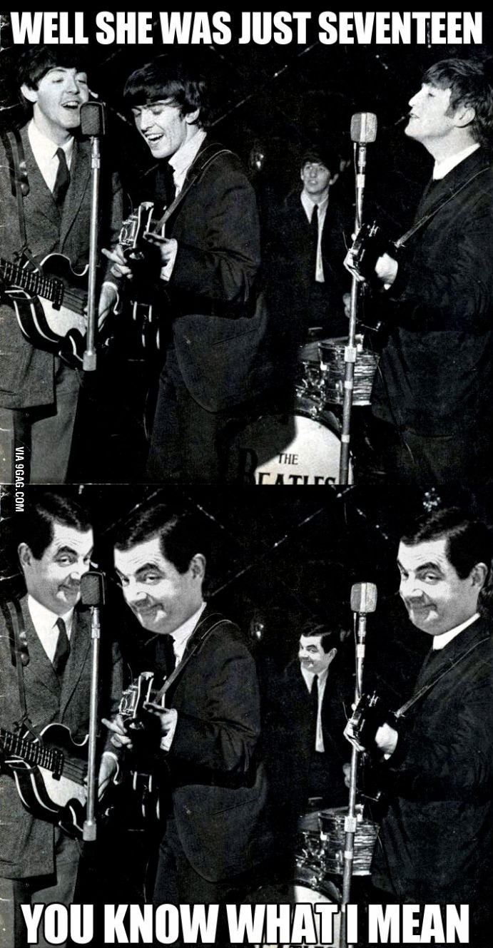 Beatles did it before Mr. Bean.jpg