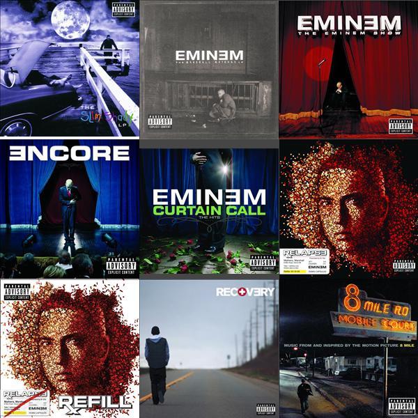 скачать дискографию Eminem через торрент - фото 6