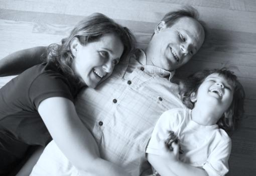 Alisa e família