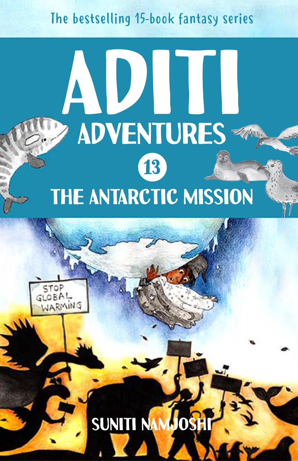 Check out Aditi's latest adventure in Antarctica!!