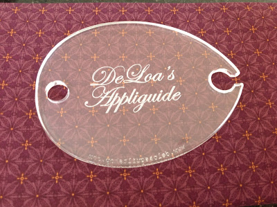 DeLoa's Appliguide - Longarm Quilting Ruler