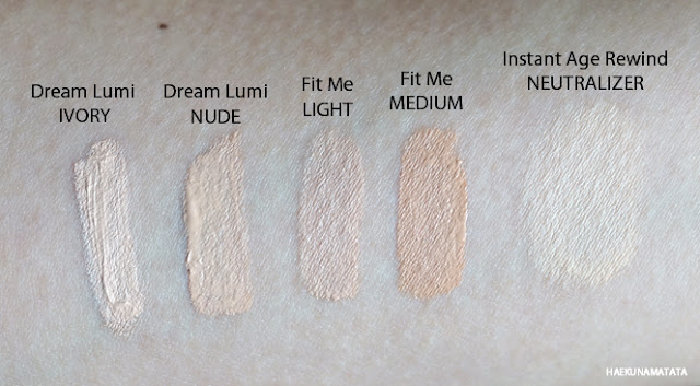 swatch_comparison_maybelline_concealers