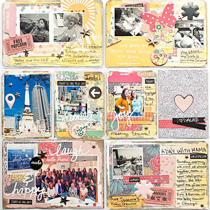 Heather Greenwood Designs | Project Life® Week 39 using supplies from daydream the event