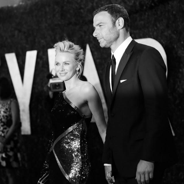 Naomi Watts & Liev Schreiber Vanity Fair Oscars 2013 party height=