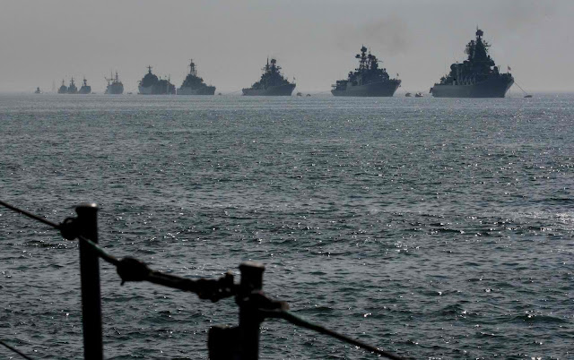 Possible naval showdown: U.S. 6th Fleet vs. Russian Mediterranean Task Force