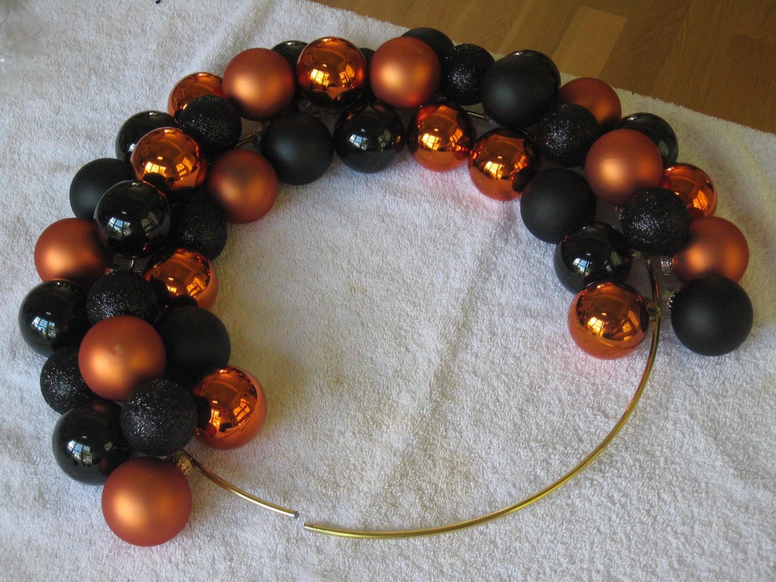 diy halloween ornament wreath uncommon designs