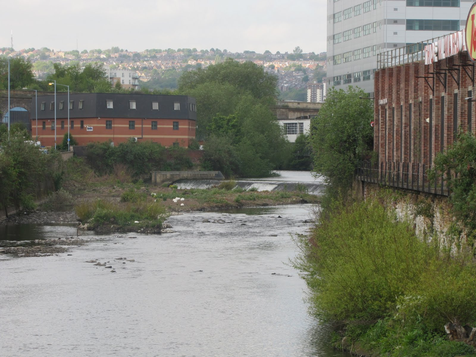 Trev S Travails Five Weirs To Meadowhall And Back