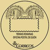 Matasellos turístico de Gijón