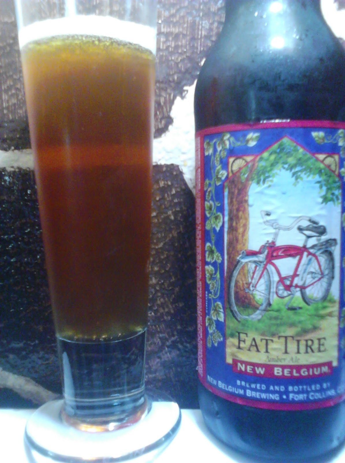 New Belgium Brewing Fat Tire Amber Ale picture