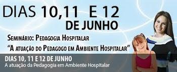 Seminário sobre Pedagogia Hospitalar em Minas Gerais