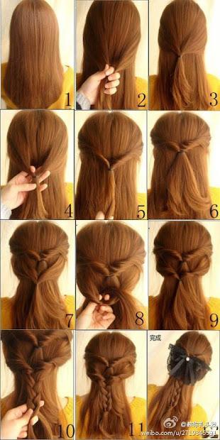 beautiful braid hairstyle 2013