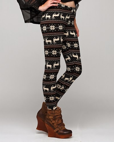 Amazing trendy winter leggings