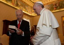 Papa Francisco e Shimon Peres