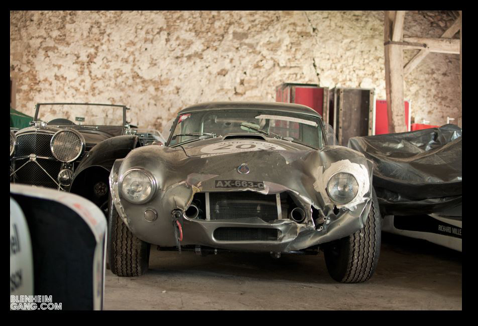 Looks Like A Barn Find Race Car Collection In Europe Gathering Dust And There Is No Information About It 3 Shelby AC Cobras Just These 4