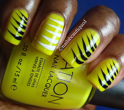 Claw Marks Nailart Design
