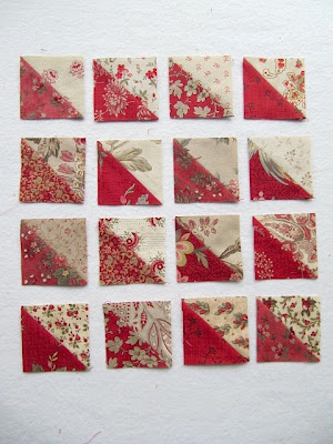 flying geese quilt block