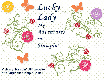 Lucky Lady .adventures in stampin'