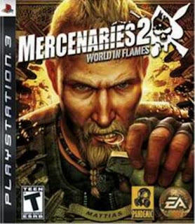Mercenaries 2 World in Flames - PS3