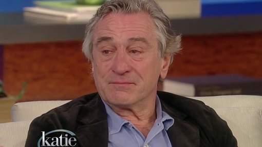 Robert De Niro fond en larmes à la télévision