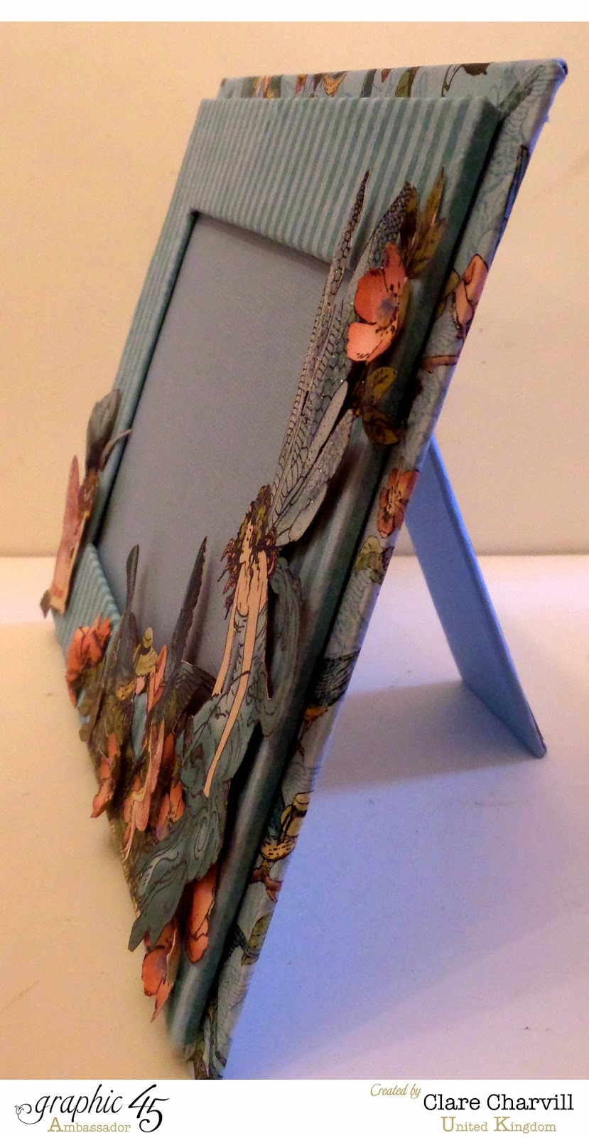 Once Upon a Springtime Single Picture Frame  4 Clare Charvill Graphic 45