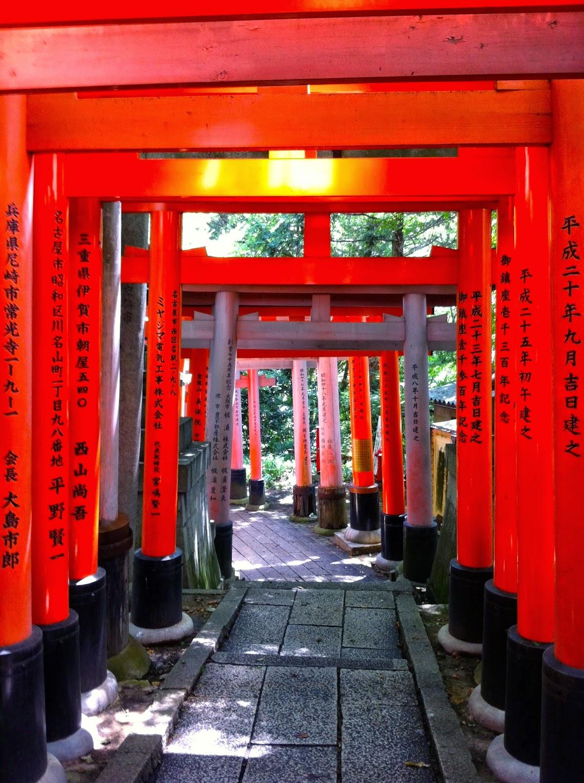 Giappone Kyoto Santuario Fushimi Inari Taisha