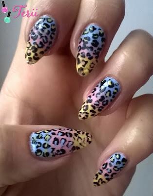 Zwierzęcy Manicure, Kolorowa Pantera