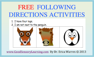 listening to instructions activity