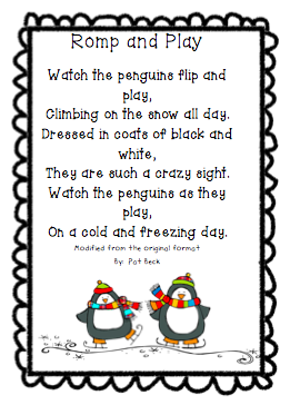 The Very Busy Classroom: A Modified Penguin Poem