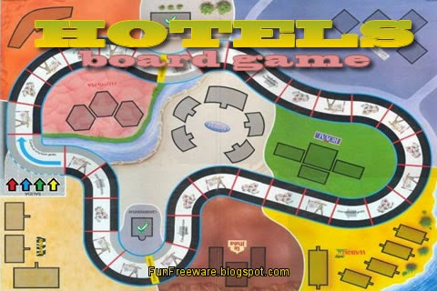 Hotels Board Game Image